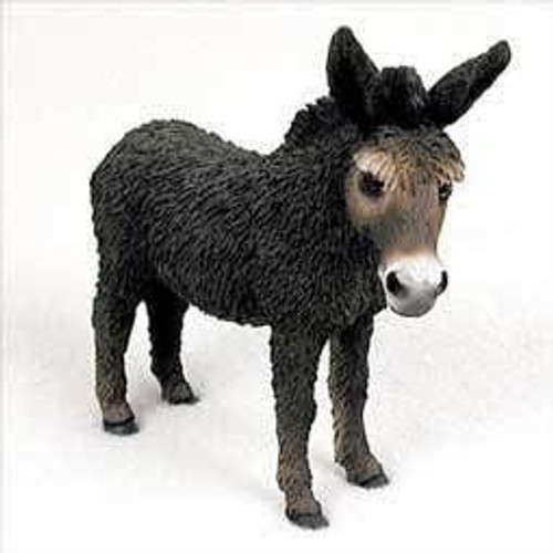 Donkey, Black Figurine