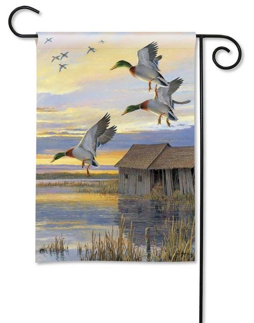 Mallard Ducks Garden Flag