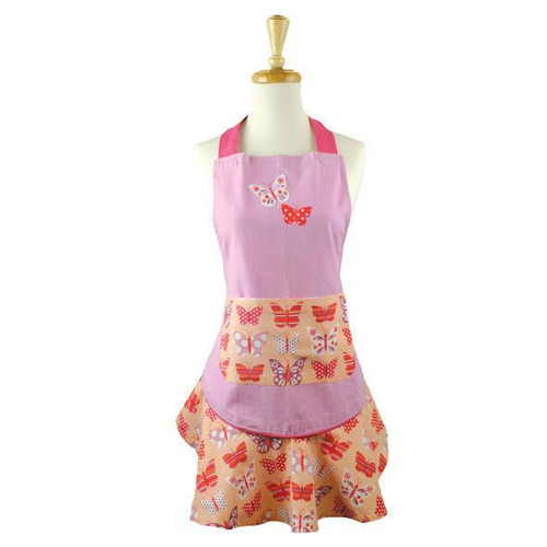 Butterfly Ruffled Apron