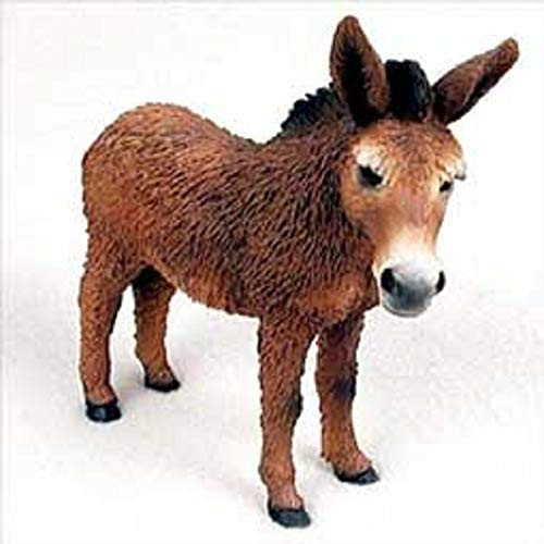 Donkey, Red Figurine