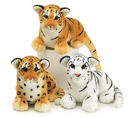 Big Cat Cubs Plush Trio