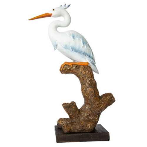 Great Blue Heron Figurine, Large