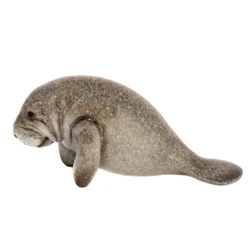 Gray Manatee Figurine