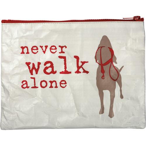 Never Walk Alone Pouch