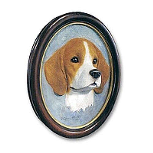 Beagle Sculptured Portrait