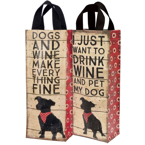 Dogs & Wine Tote