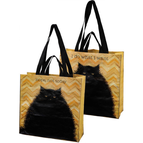 Nope Not Today - Cat Market Tote