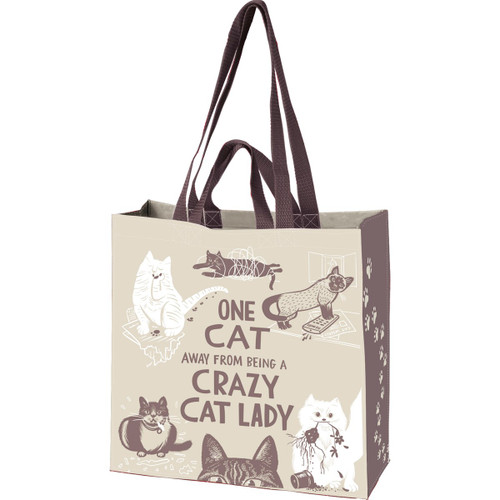 One Cat Away Market Tote