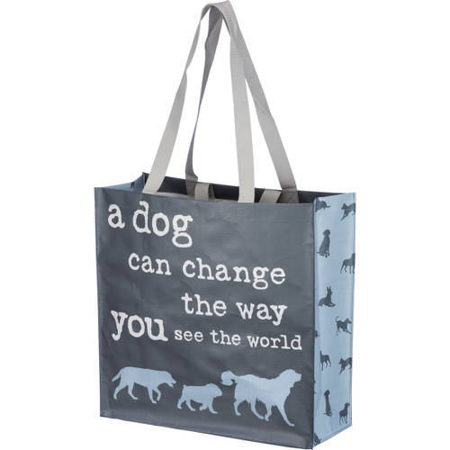 A Dog Can Change...Market Tote
