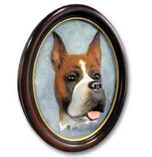 Boxer Sculptured Portrait