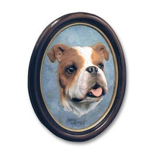 Bulldog Sculptured Portrait