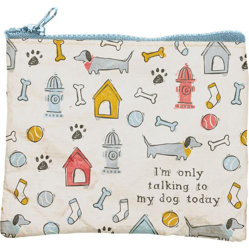 Dog Theme Pouch