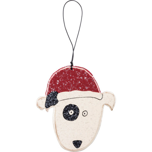 Dog Wooden Ornament