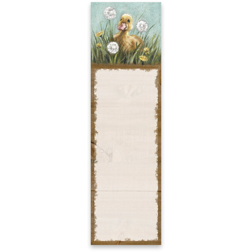 Yellow Duckling List Notepad