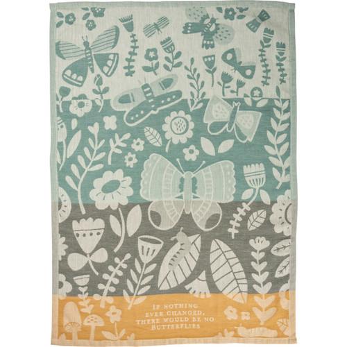 Butterfly Jacquard Dish Towel