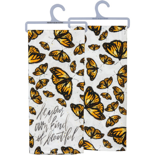 Be Your Own Beautiful - Butterfly Kitchen Towel
