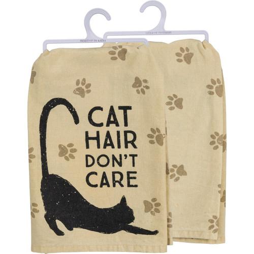 Cat Hair Don't Care - Dish Towel