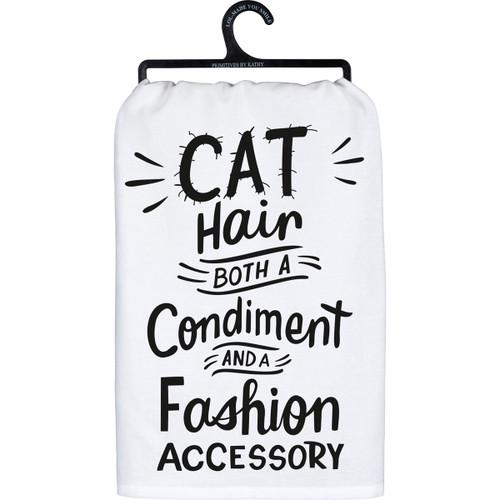 Cat Hair - Dish Towel