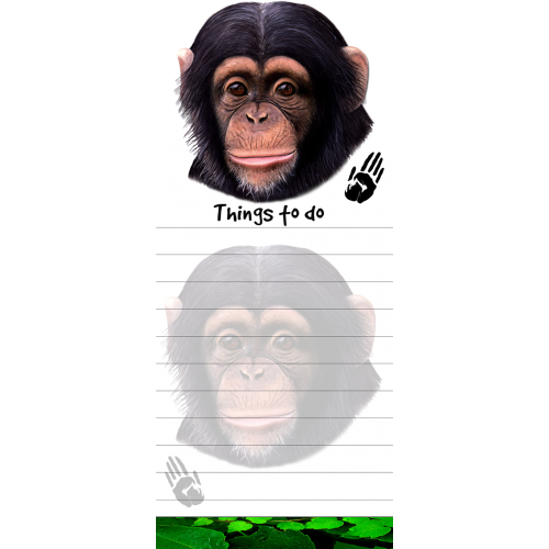 Chimpanzee List Pad