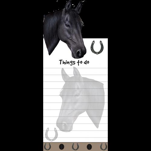 Black Horse List Pad