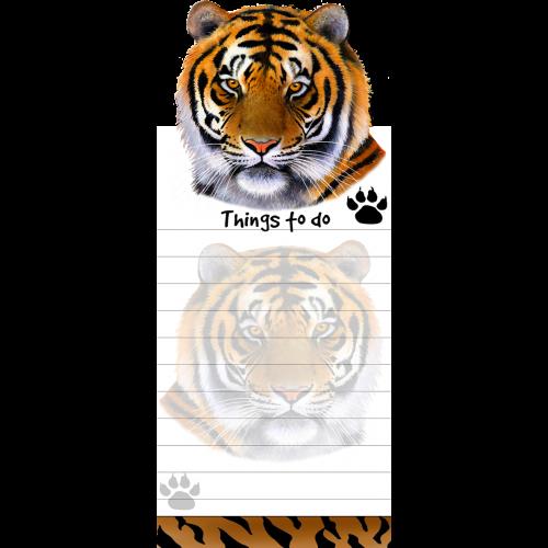 Orange Tiger List Pad