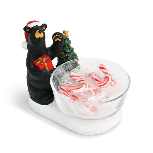 Black Bear Candy Dish