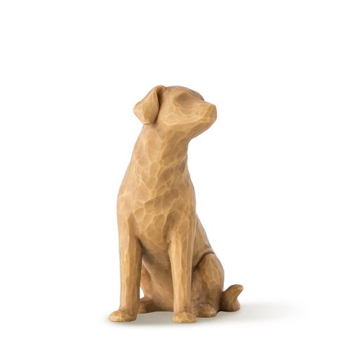 Love My Dog Sculpture (Light)
