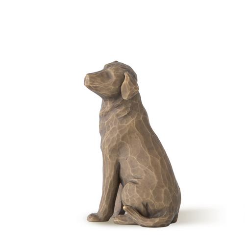 Love My Dog Sculpture (Dark)