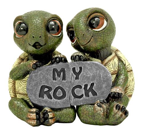 My Rock Turtle Figurine