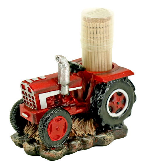 Tractor Toothpick Holder