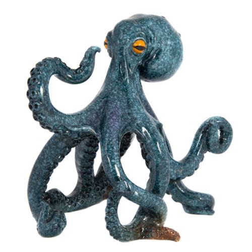 Blue Octopus Decor