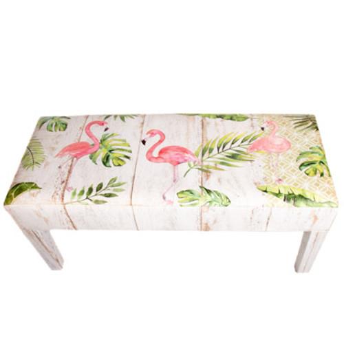 Flamingos Bench