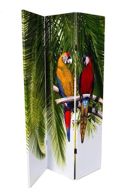 Parrot Room Divider