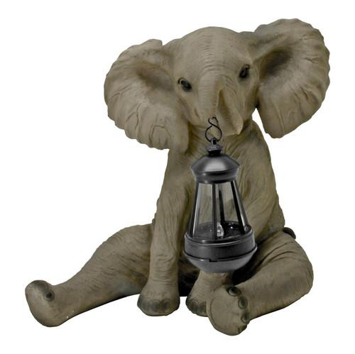 Baby Elephant LED Solar Lantern