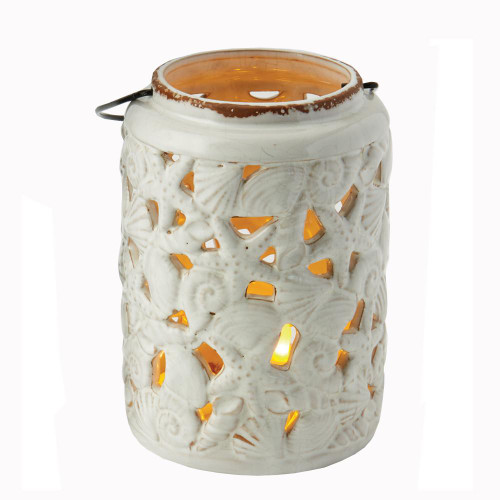 Sea Shell Candle Lantern
