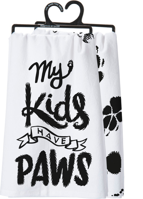 My Kids Have Paws - Kitchen Towel