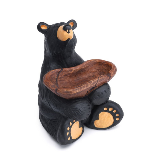 Black Bear With Tray