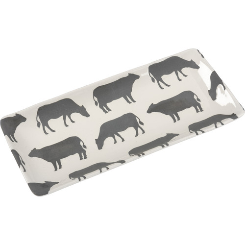 Cow Design Platter