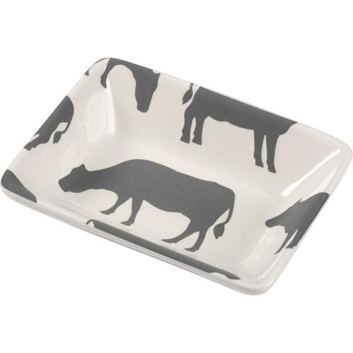 Cow Design Mini Tray