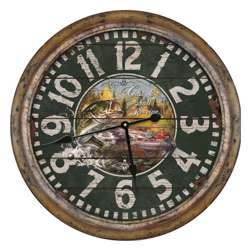 Cast & Receive Wall Clock