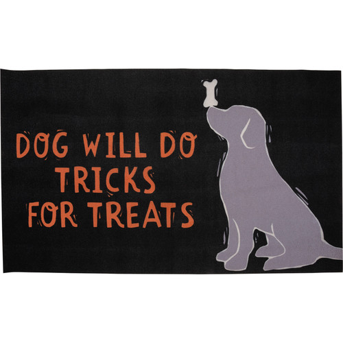 Dog Will Do Tricks For Treats - Rug