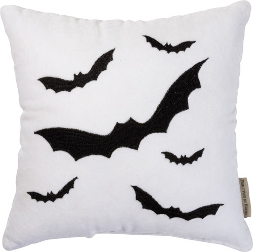 Bat Accent Pillow