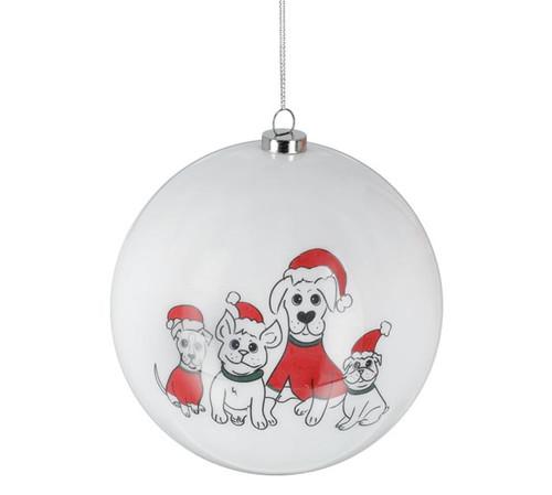 Santa Paws Dog Ornament