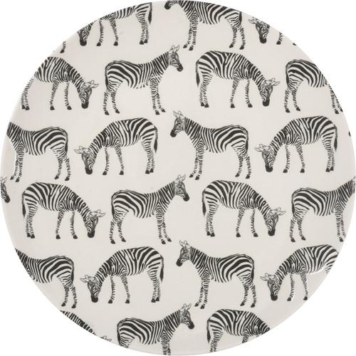 Zebra Plate, Medium