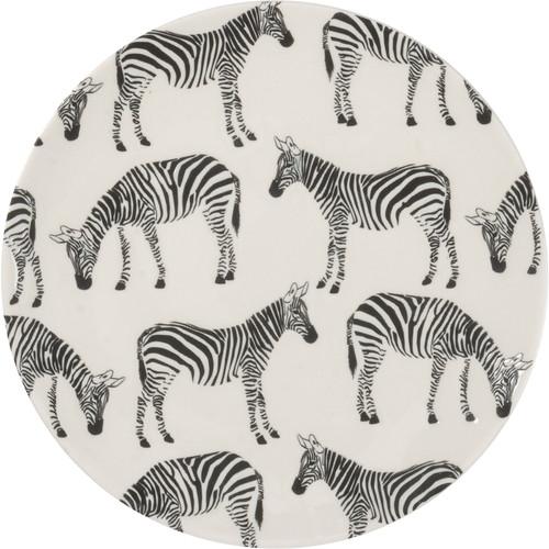 Zebra Plate, Small