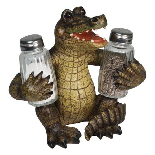 Alligator Salt & Pepper Set