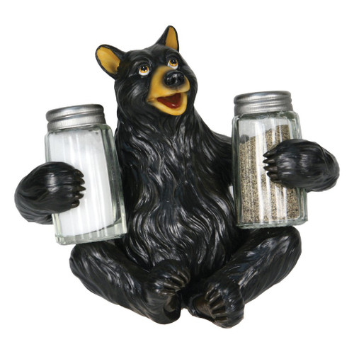 Black Bear Salt & Pepper Set