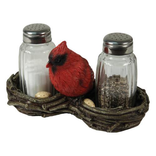 Cardinal's Nest Salt & Pepper Set