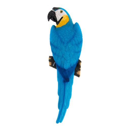 Blue Macaw Wall Parrot