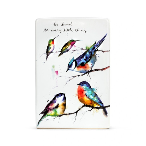 Colorful Bird Plaque